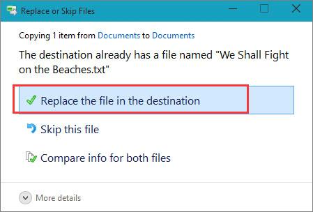 透過檔案歷程記錄救回永久刪除檔案